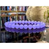 Precious-GEMS Jewelry A+ (Incredibly Gemmy!) Lavender Jade Bead Bracelet for Men or Women (On Stretch) 8mm