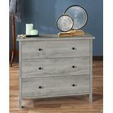 Furniture of America Dressers Vintage - Vintaged Gray Oak Leptis Three-Drawer Dresser