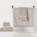 Red Barrel Studio® Jehovany 6 Piece 100% Cotton Towel Set 100% Cotton in Brown, Size 16.0 W x 28.0 D in   Wayfair E0E00A165B5A48D4A0B4A6D8BCBF6A20