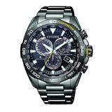 Citizen Promaster World Time Chronograph Black Dial Men's Watch CB5037-84E