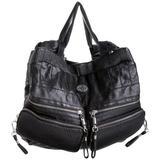 Diesel Sea Jet Black's Beach Shoulder Bag,Black,one size