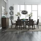 Liberty Furniture Industries Ventura BLVD 7 Piece Rectangular Table Set, Brown