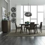 Liberty Furniture Industries Ventura BLVD Rectangular Table Set, 5 Piece, Brown