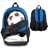Himal Soccer Bag-Backpack for Soccer,Backpack for Football & Volleyball & Handball,Sports Bag with Separate Cleat and Ball Holder