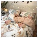 YONGLI Winter Bedding Set 3/4 Piece Cotton Bedding Set Large Comforter Bedding Set King Queen Size Bedding Set Luxury Home Textile (Color : 6, Size : Full 4pcs)