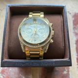 Michael Kors Accessories   Michael Kors Pav Gold Watch   Color: Gold   Size: Os