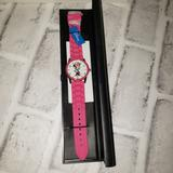 Disney Accessories | Disney Minnie Mouse Silicone Band Watch New | Color: Pink | Size: Os