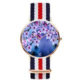 Peach Blossom Wrist Watches Simple Gold Dial Men Quartz Watches for Business Casual Wrist Watch for Women