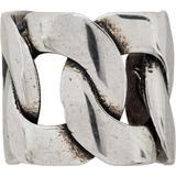 Silver Chain Ear Cuff - Metallic - Alexander McQueen Necklaces