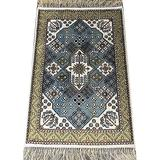 Yilong Carpet 2'x3' Hand Knotted Silk Rug Handmade Persian Oriental Traditional Carpet YHW383