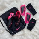 Nike Shoes | Nike Mercurial Vapor X Leather Fg Soccer Cleats | Color: Black/Pink | Size: 6bb