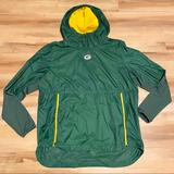 Nike Jackets & Coats | Nike Green Bay Packers Lightweight Pullover Jacket | Color: Green/Yellow | Size: Xl