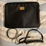 Michael Kors Accessories   Black Leather Michael Kots 13 Laptop Case   Color: Black   Size: 13
