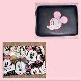 Disney Bags | Mickey Mouse Laptop Case + Sleeve | Color: Black/Pink | Size: Fits Any Laptop Or Tablet 12 And Under.