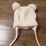 Zara Accessories   3 For 15 Zara Baby Girls Hat   Color: Cream   Size: Osbb