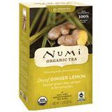 Decaf Ginger Lemon Green Tea, 16 Tea Bags, Numi Tea