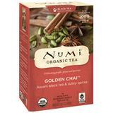 Golden Chai Black Tea, 18 Tea Bags, Numi Tea