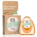 Coconut Oil + Xylitol Expanding Floss, 32 Yards (30 Meters), Dr. Ginger's