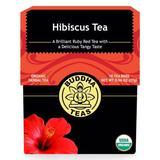 Organic Hibiscus Tea, 18 Tea Bags, Buddha Teas