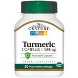 Turmeric Complex 500 mg, 60 Vegetarian Capsules, 21st Century HealthCare