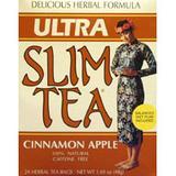 Ultra Slim Tea, Cinnamon Apple, 24 Tea Bags, Hobe Labs