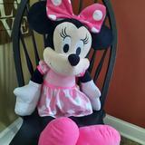 Disney Toys   Disney Minnie Mouse 30 Plush Toy   Color: Black/Pink   Size: 30