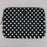 Kate Spade Accessories   Kate Spade Polka Dot Laptop Sleeve   Color: Black/White   Size: Os