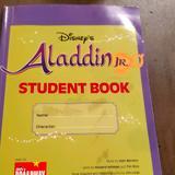 Disney Other | Disney Aladdin Jr Musical Book | Color: Green/Purple | Size: Os