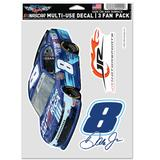 """""""WinCraft Dale Earnhardt Jr. 2021 Unilever United for America NASCAR Xfinity Series 5.5"""""""" x 7.75"""""""" Three-Pack Multi-Use Decals"""""""