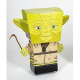 Star Wars Action Figures Multi-Color - Star Wars Yoda Pulp Heroes 3-D Figurine