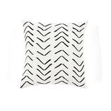 Hygge Row Decorative Pillow Cover White Single 20x20 - Lush Decor 16T005644