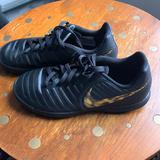 Nike Shoes | Nike Kids Tiempo Indoor Soccer Cleats. | Color: Black | Size: 3b