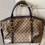Gucci Bags   Authentic Gucci Handbag W Shoulder Strap   Color: Brown/Tan   Size: Os