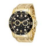 Invicta Pro Diver Chronograph Quartz Black Dial Men's Watch 35132