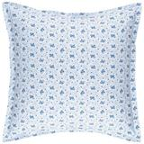 Pine Cone Hill Ditsy Floral 100% Cotton Envelope Sham 100% Cotton in Blue, Size 20.0 H x 26.0 W x 0.1 D in | Wayfair PC3147-SHS
