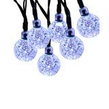 Sowaz String Lights white - White Crystal Ball Outdoor 30-Bulb String Light