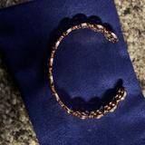 Tory Burch Jewelry   Gold Enamel Cuff Bracelet   Color: Gold   Size: Os