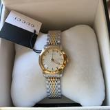 Gucci Accessories   Gucci Two Tone G Timeless Silver & Gold Watch   Color: Gold/Silver   Size: Os