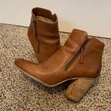 Michael Kors Shoes | Cute Michael Kors Tan Leather Ankle Boots! | Color: Tan | Size: 8