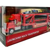 Disney Toys | Cars Launching Mac Transporter | Color: Red | Size: Osb