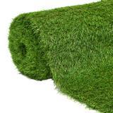 """vidaXL Artificial Grass 4.9'x16.4'/1.6"""" Green"""