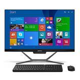 All in One PC Intel Core i510210U, 16GB RAM, 512GB SSD, AIO PC Desktop Computer Windows 10 Pro, USB3.0, LAN, HDMI & VGA Dual Output, Wireless Keyboard & Mouse, WiFi with BT 4.2 QIKEMALL