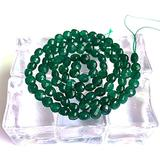BD-11002 DIY Beads 4mm Natural Green Jades Stone Beads 15'' Faceted Coin Button DIY Loose Beads for Jewelry Making Beads Necklace Bracelet Earring - ( Type: Jade )