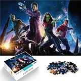 Guardians of The Galaxy Jigsaw Puzzle Games for Adults and Children Mini 1000 Pcs Paper Puzzle