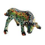 Spain 3D Mosaic Bull Resin Home Desktop Table Decoration Handmade Ornament Tourist Souvenir Collection
