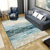 DecorationPaper Modern Abstract Artistic Atmosphere Carpet, Coffee Table Rugs Multicolored Rugs, Soft Low-Pile Area Rug-007_140x200cm