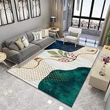 DecorationPaper Modern Abstract Artistic Atmosphere Carpet, Coffee Table Rugs Multicolored Rugs, Soft Low-Pile Area Rug-008_160x230cm