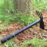 Hand Rake, Hand Rake Garden Tool, 2-in-1Hoe And Cultivator Hand Tiller, Garden Hand Rake, Rake Steel Hand Gardening Shovel Tool, For Loosening Soil, Weeding And Digging, Gardening Tools, Hand Tiller
