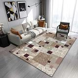 DecorationPaper Modern Abstract Artistic Atmosphere Carpet, Coffee Table Rugs Multicolored Rugs, Soft Low-Pile Area Rug-005_140x200cm