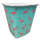 The Big One Plastic Trash Can, Med Blue